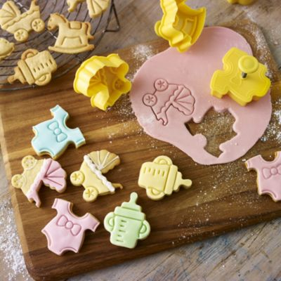 baby shower cookie cutters in cookie and pastry cutters at lakeland