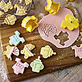 4 Baby Shower Cookie Cutters