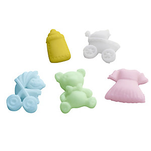 Baby Toppers Silicone Icing Mould
