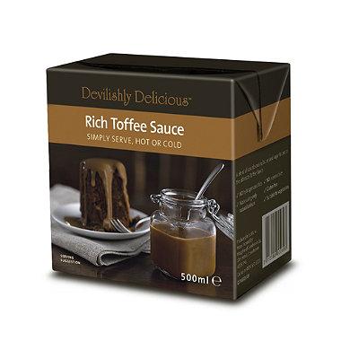 Devilishly Delicious Rich Toffee Sauce