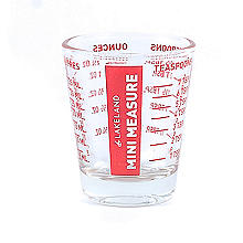 Lakeland Mini Glass Measure Beaker 35ml