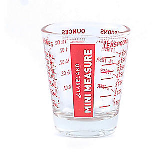 Mini Glass Measure Beaker 35ml