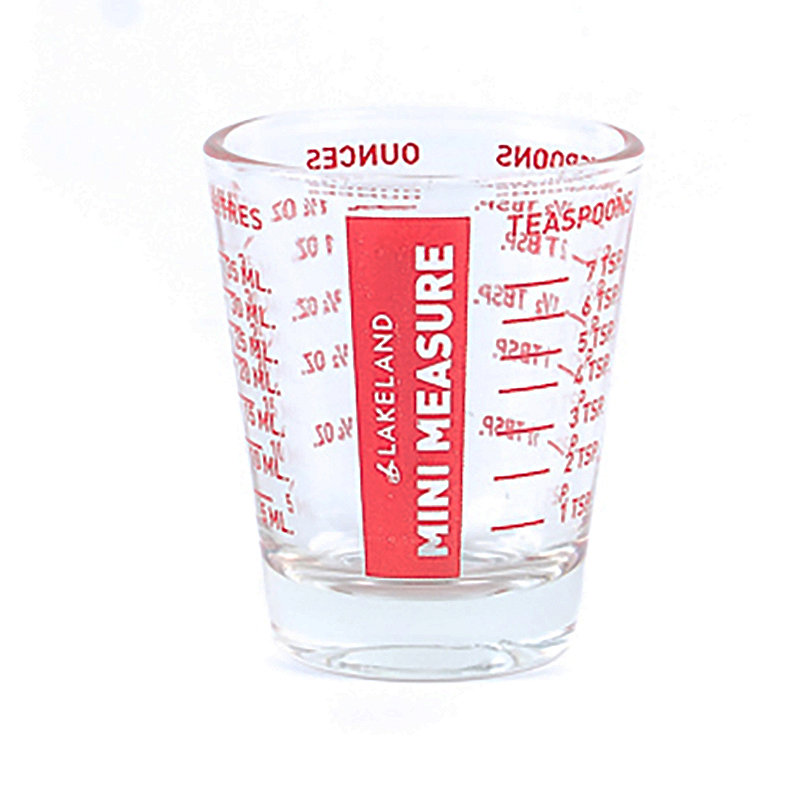 Mini Glass Measure Beaker 35ml