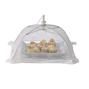 White Standard Food Umbrella