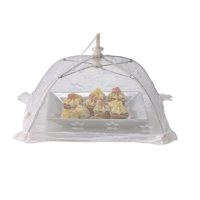 White Standard Food Umbrella