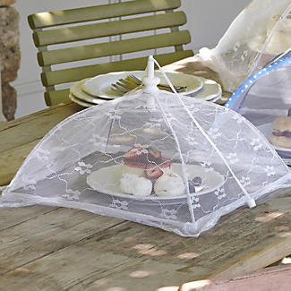 Weiße Speisehaube von Lakeland, 33cm alt image 2