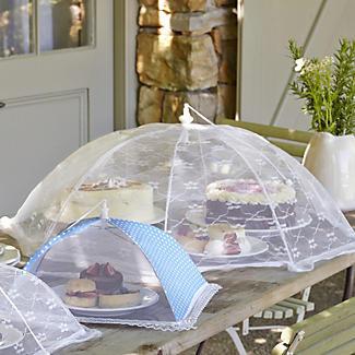 White Jumbo Food Umbrella alt image 2