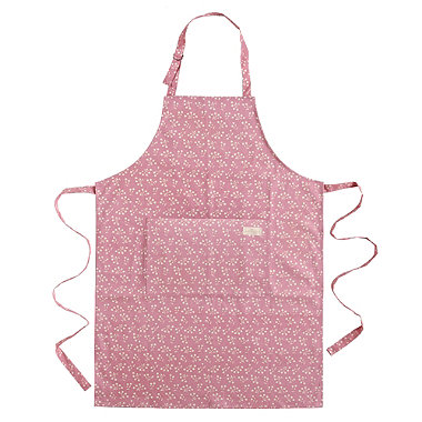 Mary Berry with Pink Apron