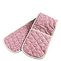 Mary Berry With Lakeland Pink Double Oven Glove
