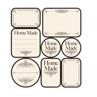 Kilner Home Made Jam Jar Labels X24