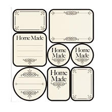 24 Kilner® Home-Made Labels