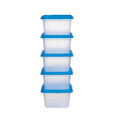 5 Lakeland Stack-a-boxes 200ml