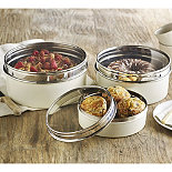 Cake Storage Tins With See Through Lids