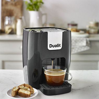 dualit espress auto 3 in 1 coffee machine in coffee bean. Black Bedroom Furniture Sets. Home Design Ideas