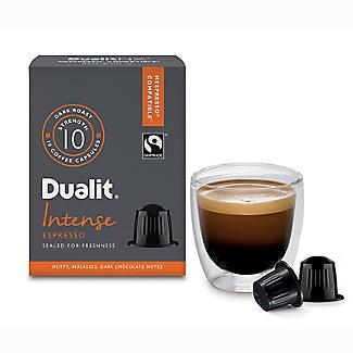 Dualit® NX® 10 Coffee Pods - Strength 10 - Intense Espresso Capsules alt image 3