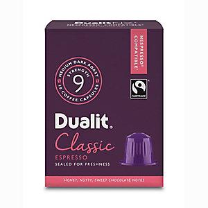 10 Dualit NX Kaffeekapseln - Stärke 9 Classic Espresso