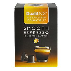 10 Dualit NX Kaffeekapseln – Smooth