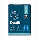 Dualit® NX® 10 Coffee Pods - Strength 3 - Decaf Espresso Capsules