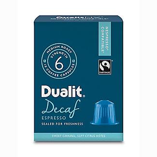 10 Dualit NX Kaffeekapseln - Stärke 3 Entkoffeiniert