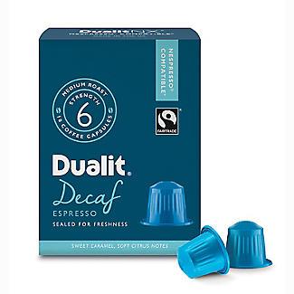 Dualit® NX® 10 Coffee Pods - Strength 3 - Decaf Espresso Capsules alt image 2