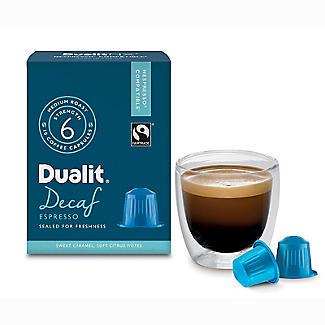Dualit® NX® 10 Coffee Pods - Strength 3 - Decaf Espresso Capsules alt image 3