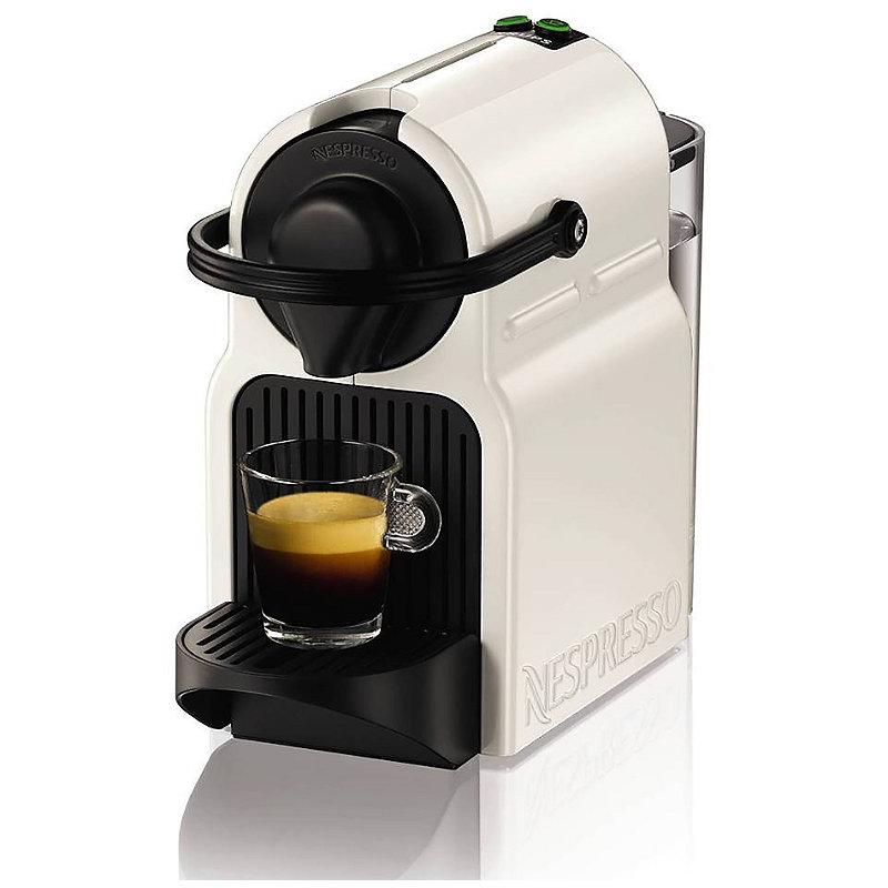 Krups® Nespresso® Inissia White Coffee Pod Machine XN100140