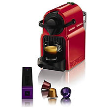 Krups® Nespresso® Red Inissia Coffee Pod Machine
