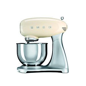 Smeg Classic Retro 4.8L Stand Mixer - Cream