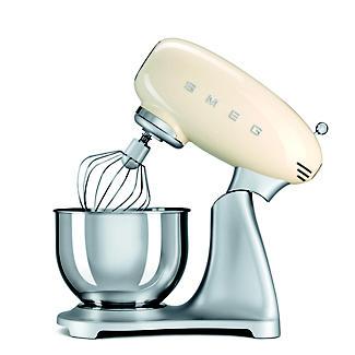 Smeg Classic Retro 4.8L Stand Mixer - Cream SMF01CR  alt image 3