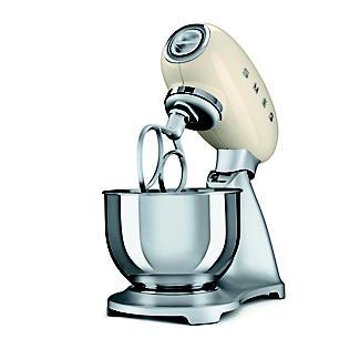 Smeg Classic Retro 4.8L Stand Mixer - Cream SMF01CR  alt image 4