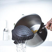 Clip-On Pan Strainer