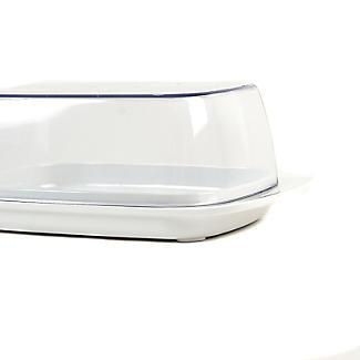 Rosti Melamine Butter Dish & Clear Lid alt image 4