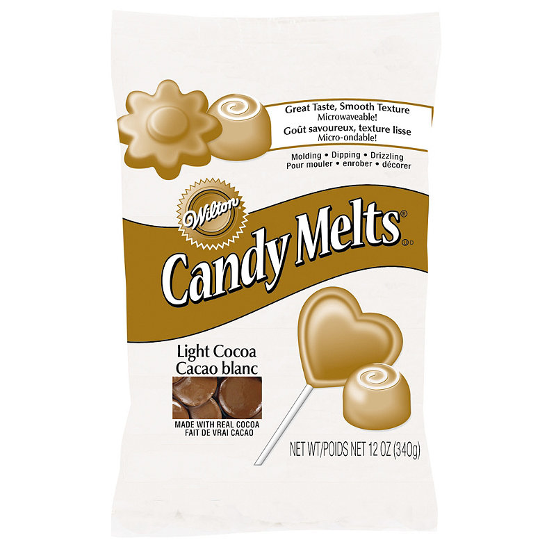 Wilton Candy Melts® - Light Cocoa Brown -