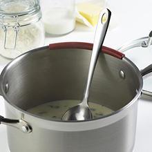 3 Löffelhalter - Silikonmanschetten für Töpfe & Pfannen