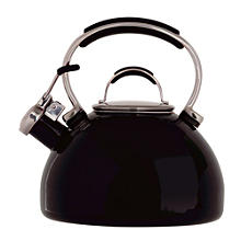 Prestige® 2L Black Stovetop Whistling Kettle