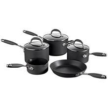 Raymond Blanc 5pc Hard Anodised Kitchen Pan set