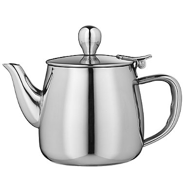 12oz Stainless Steel Tea Pot