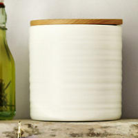 Wave Medium Ceramic Canister