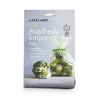 20 Lakeland Stayfresh Longer Vegetable Storage Bags (28 x 46cm) alt image 3