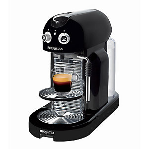 Magimix® Nespresso® Maestria Black Coffee Pod Machinev 11331
