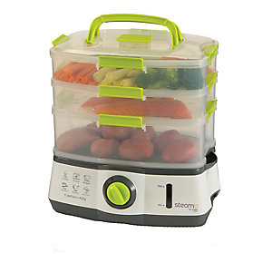 Steama 3 Tier Electric Food Steamer