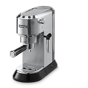 Delonghi Dedica Chrome Espresso Coffee Machine EC680M