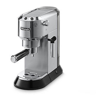 De'longhi Dedica Chrome Espresso Coffee Machine EC680M