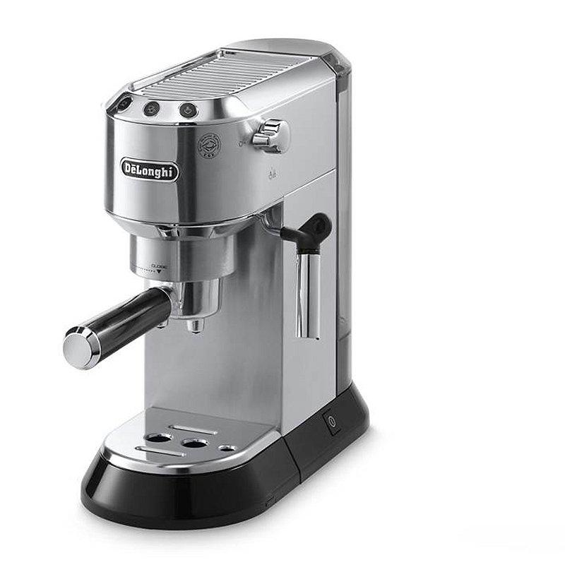 De'longhi Dedica Chrome Espresso Coffee Machine EC680M