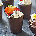 12 Dark Chocolate Toasting Cup