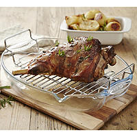 Pyrex® Oval Roaster and Rack