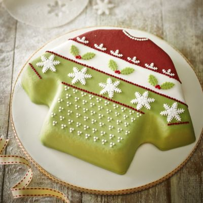 Wilton 174 Christmas Jumper Cake Pan In Novelty Cakes At Lakeland