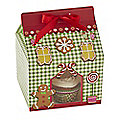 4 Gingerbread House Cake Bags