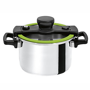 CookQuick Pot Pressure Cooker & Steamer Pan 4L