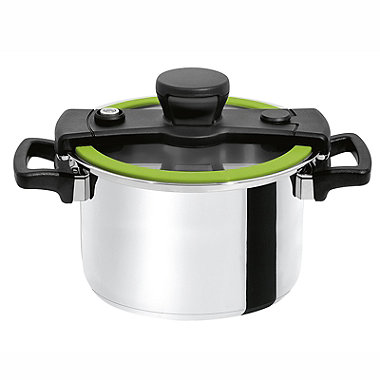 CookQuick Pot Pressure Cooker & mp; Steamer Pan 4L
